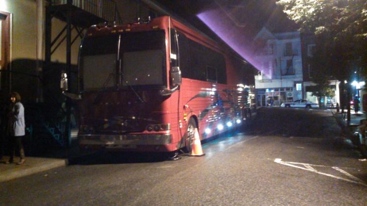 mr. kristofferson's bus