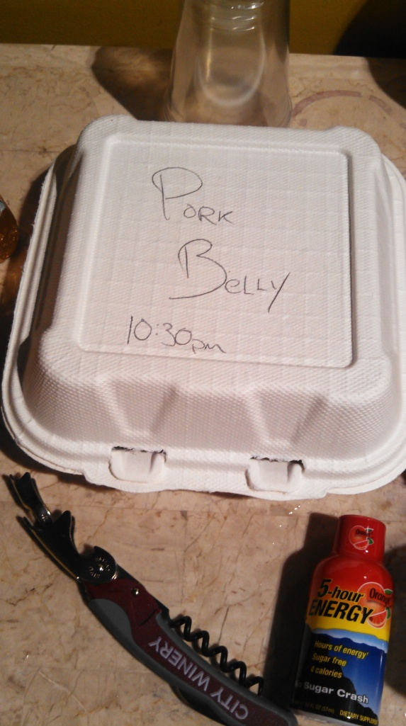 pork belly 10:30 pm